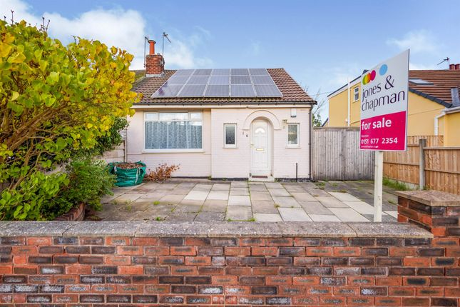 Thumbnail Semi-detached bungalow for sale in Bermuda Road, Moreton, Wirral