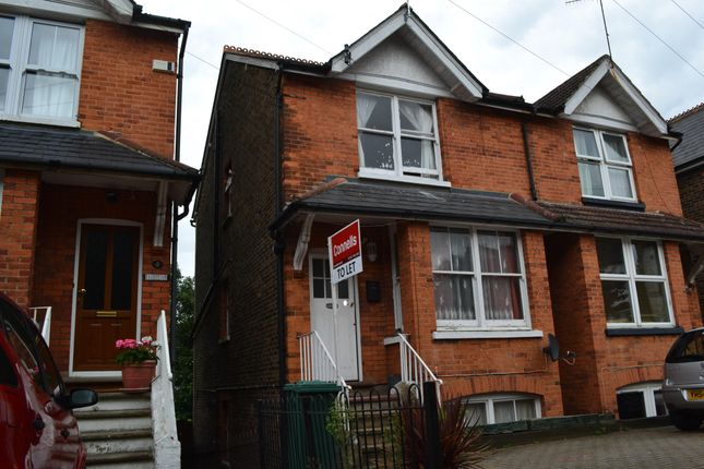 Thumbnail Semi-detached house to rent in Oakdene Road, Redhill