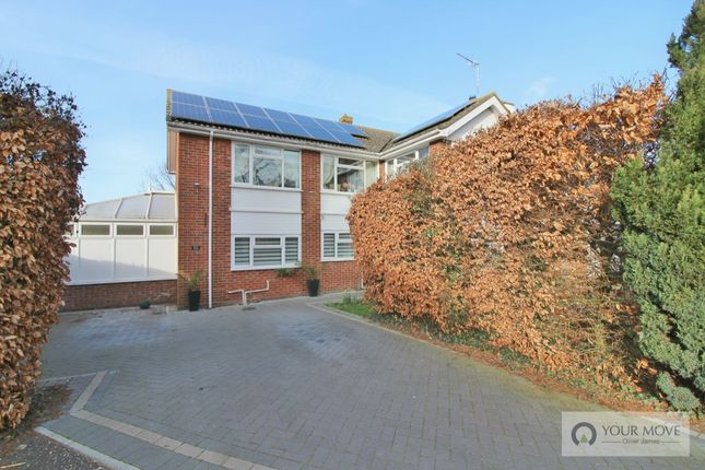 Thumbnail Detached house for sale in St. James Crescent, Belton, Great Yarmouth
