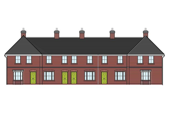 Thumbnail Terraced house for sale in Tilley Terrace, Mill Street, Wem, Shrewsbury