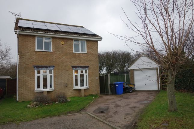 Thumbnail Detached house for sale in Fishermans Way, Kessingland, Lowestoft