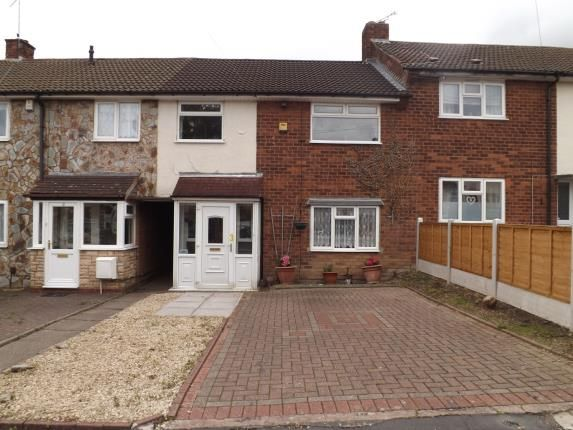 Thumbnail Terraced house for sale in Oakdale Close, Oldbury, West Midlands