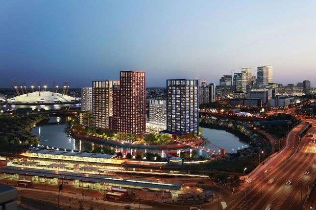 Thumbnail 1 bed flat for sale in 2nd Floor, London City Island, Montagu Building, London