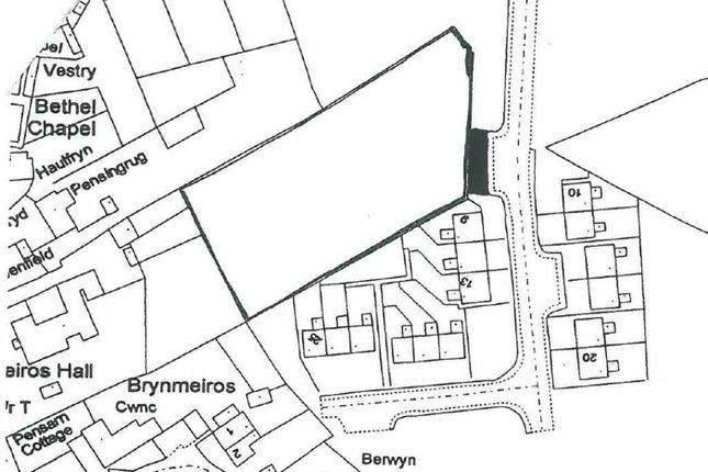 Thumbnail Land for sale in Parc Puw, Velindre, Llandysul