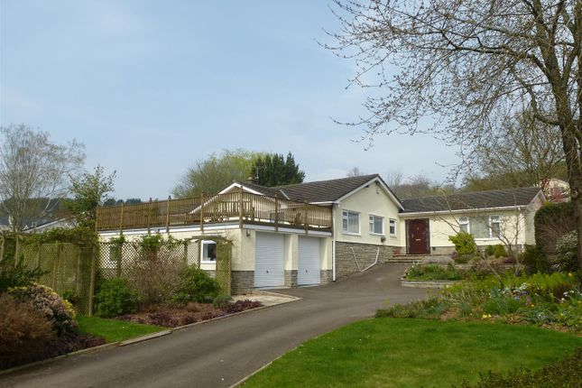 Thumbnail Detached bungalow to rent in Court House Road, Llanvair Discoed, Chepstow