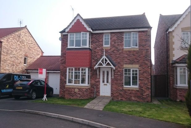 Thumbnail Detached house to rent in St. Catherines Way, Bishop Auckland