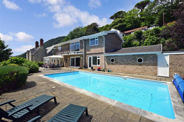 Rear Garden of Maples Drive, Bonchurch, Isle Of Wight PO38