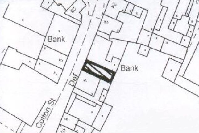 Land for sale in Development Land At Cotton Street, Bolsover, Chesterfield, Derbyshire