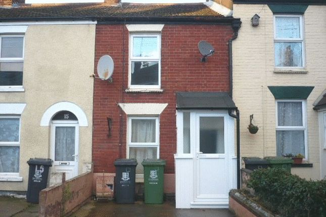 Thumbnail Terraced house to rent in Jury Street, Great Yarmouth