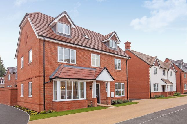 """Thumbnail Detached house for sale in """"The Carnarvon"""" at Tile Barn Row, Woolton Hill, Newbury"""