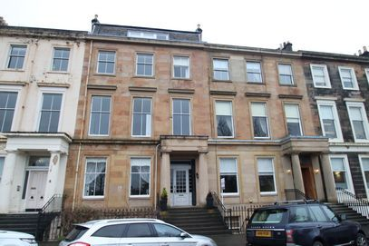 Thumbnail Flat to rent in Woodside Terrace, Glasgow, 7Uy
