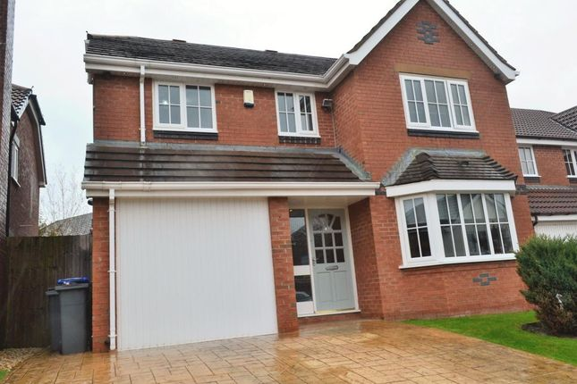 Thumbnail Detached house for sale in Plovers Way, Blackpool