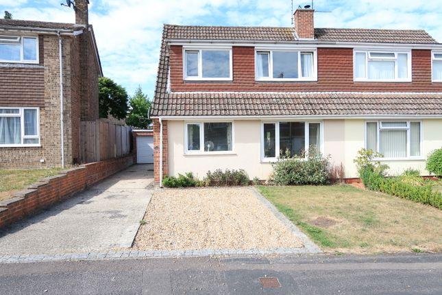 Thumbnail Semi-detached house to rent in Lightsfield, Oakley, Basingstoke