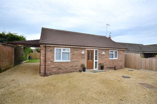 Thumbnail Detached bungalow for sale in Jubilee Hall Lane, Gayton, King's Lynn