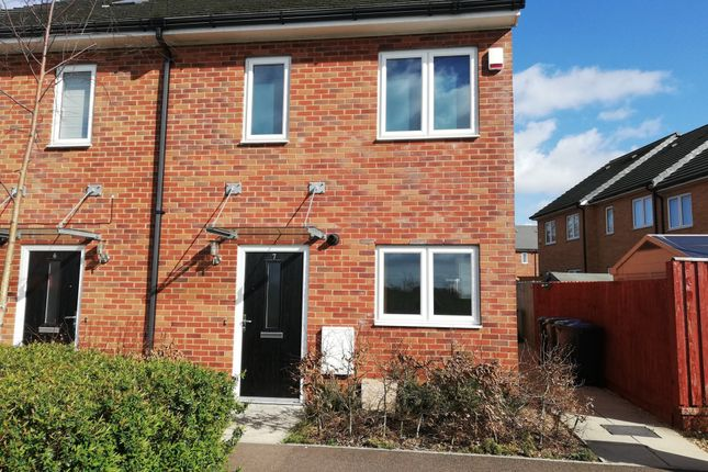 Thumbnail Terraced house to rent in Farley Meadows, Luton