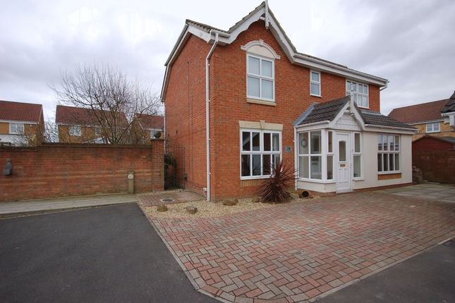Thumbnail Detached house for sale in St. Cuthberts Way, Holystone, Newcastle Upon Tyne