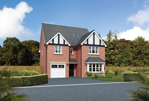 "Thumbnail Detached house for sale in ""Merringford"" At Sherbourne Avenue, Chester CH4, Chester,"