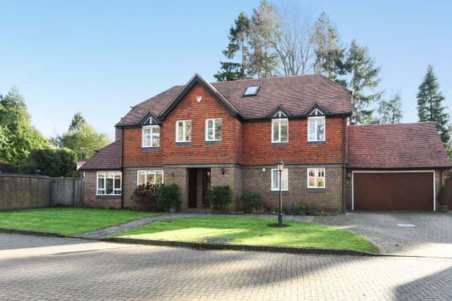 Thumbnail Detached house for sale in Holly Bank Road, Hook Heath, Woking