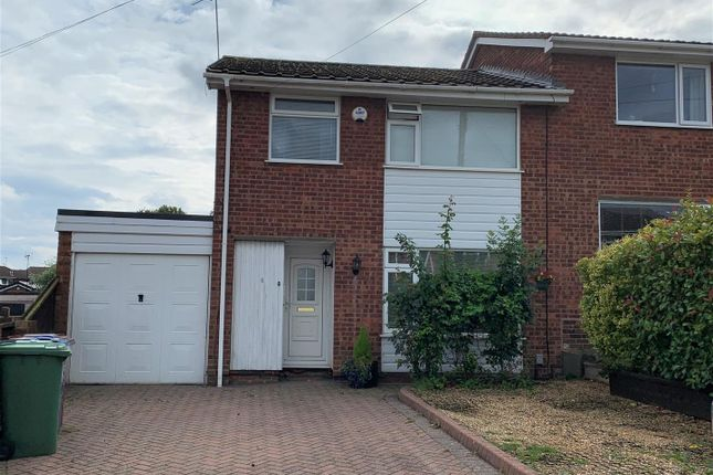 Thumbnail Semi-detached house to rent in Ferncombe Drive, Rugeley