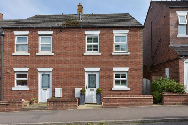 Thumbnail End terrace house for sale in Chesterfield Road, Lichfield