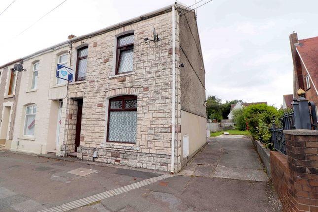 Thumbnail End terrace house for sale in West Street, Swansea