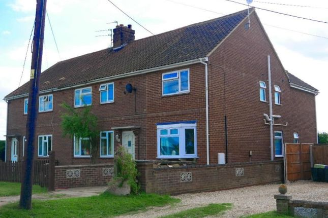 Thumbnail Semi-detached house for sale in Oxwick Road, Horningtoft, Dereham, Norfolk
