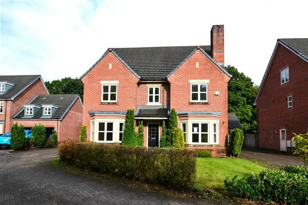 Thumbnail Detached house for sale in Woodlands Park Close, Wigan