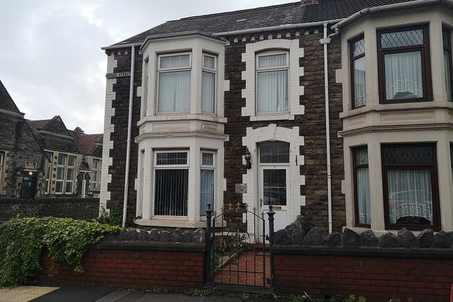 Thumbnail End terrace house to rent in Broad Street, Port Talbot, Neath Port Talbot.