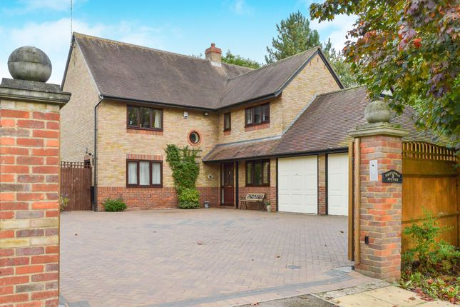 Thumbnail Detached house for sale in Broadway Avenue, Giffard Park, Milton Keynes