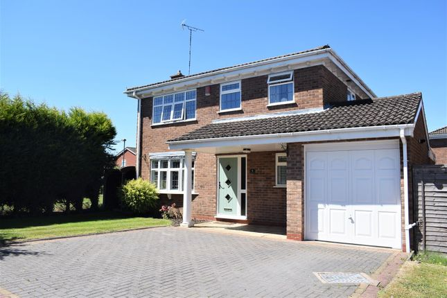 Thumbnail Detached house for sale in Axminster Close, Horeston Grange, Nuneaton