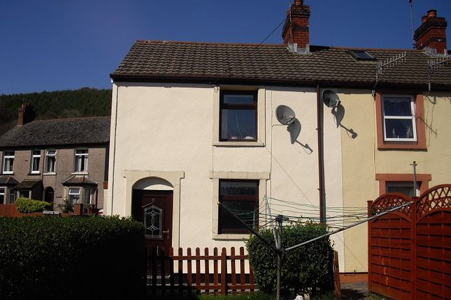 Thumbnail End terrace house to rent in Woodland Terrace, Abercarn, Newport.