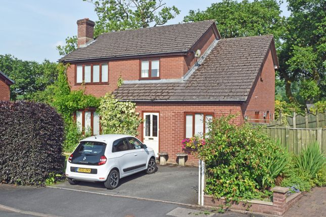 Thumbnail Detached house for sale in Crabtree Green, Llandrindod Wells