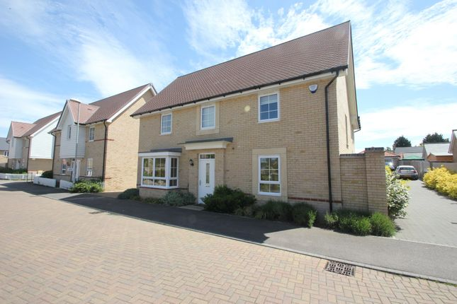 Thumbnail Detached house for sale in Nursery Drive, Clements Gate, Hawkwell