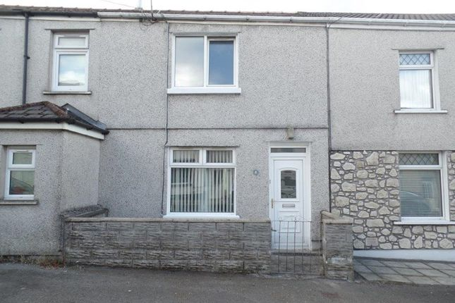 Thumbnail Terraced house for sale in Evans Terrace, Twynyrodyn, Merthyr Tydfil