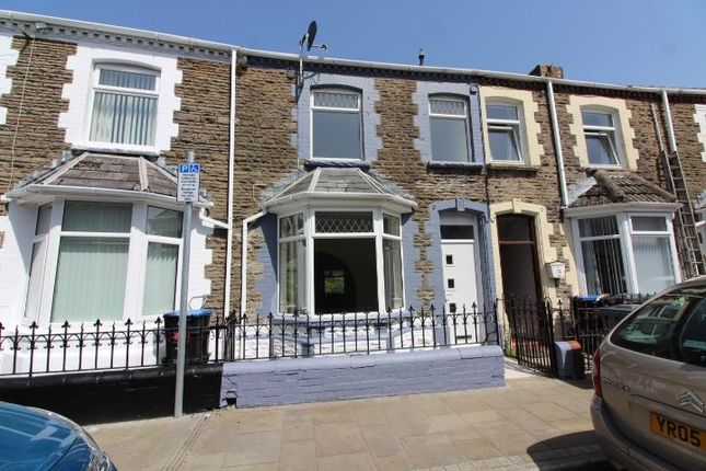 Thumbnail Terraced house for sale in Church Crescent, Ebbw Vale