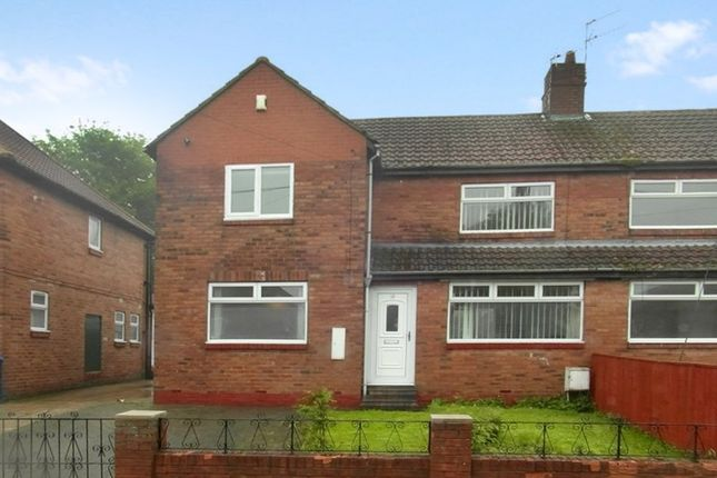 Thumbnail Semi-detached house for sale in Shinwell Crescent, Thornley, Durham