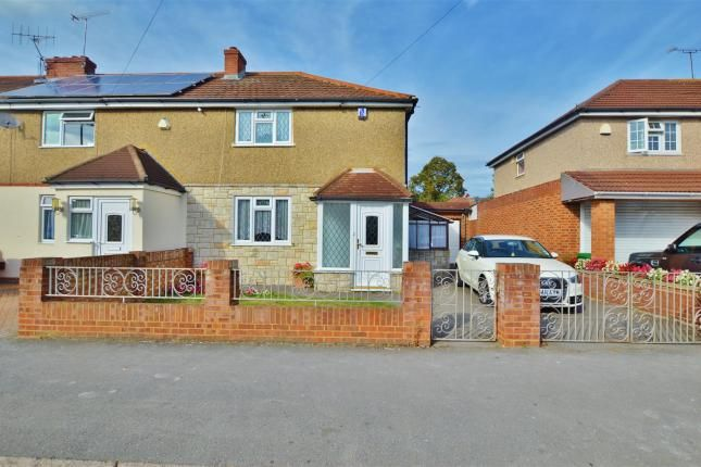 Thumbnail Semi-detached house to rent in St. Elmo Crescent, Slough