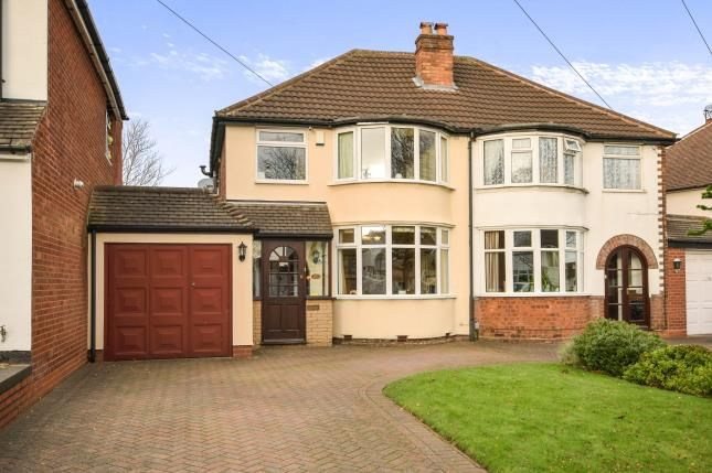 Thumbnail Semi-detached house for sale in Westwood Road, Sutton Coldfield, West Midlands