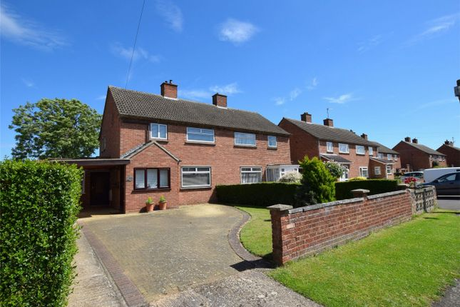 Thumbnail Semi-detached house to rent in Harris Crescent, Needingworth, St Ives, Cambridgeshire