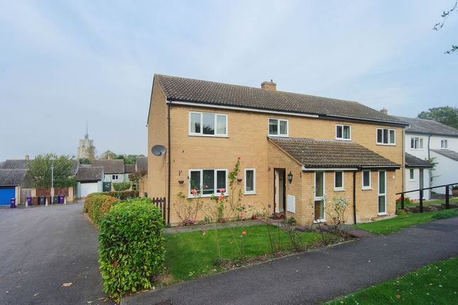 Thumbnail End terrace house to rent in Angells Meadow, Ashwell, Baldock