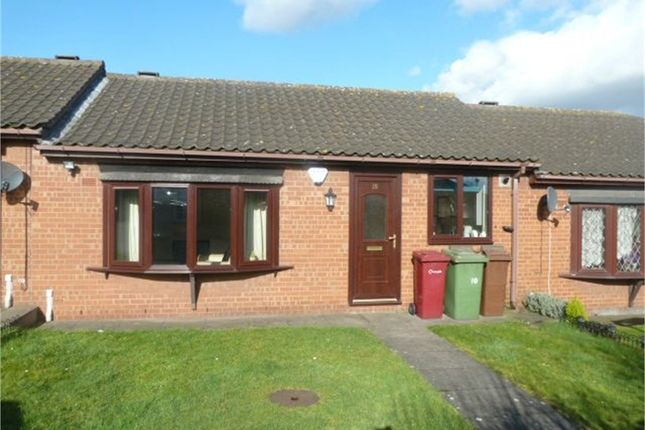 Thumbnail Terraced bungalow for sale in Mill Croft, Scunthorpe, Lincolnshire