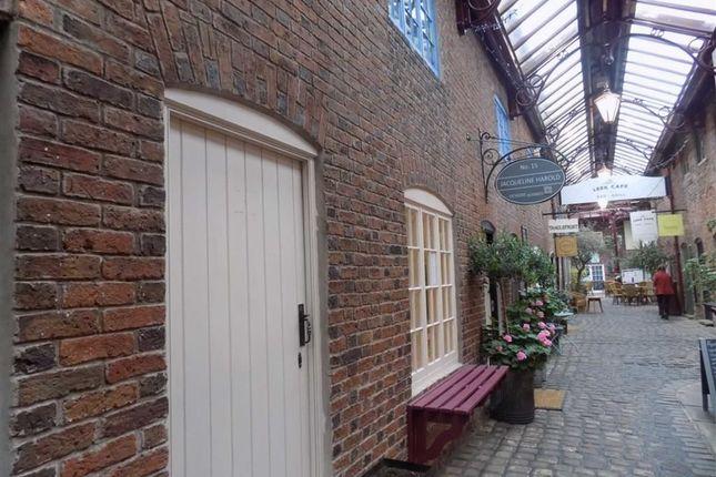 Retail premises to let in Getliffes Yard, Leek, Staffordshire