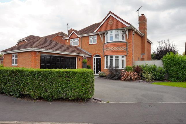 Thumbnail Detached house for sale in Sharpe Way, Leicester