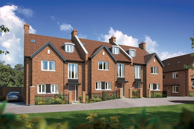 Thumbnail End terrace house for sale in Plot 3, Grove Road, Lymington, Hampshire