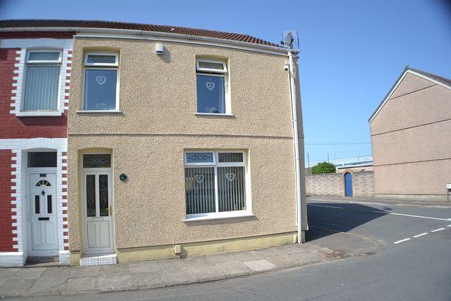 Thumbnail End terrace house for sale in Pendarvis Terrace, Port Talbot, Neath Port Talbot.