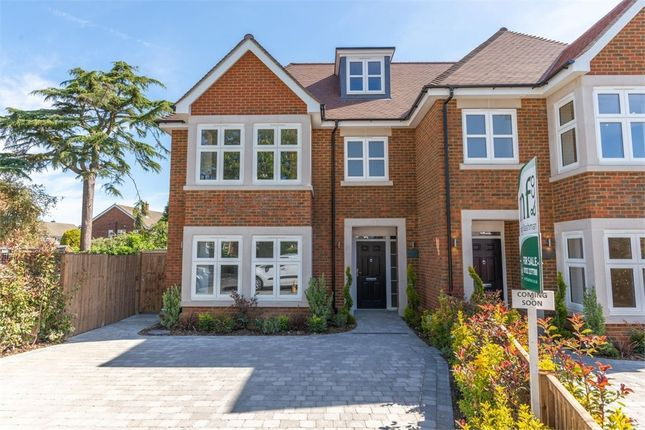 Thumbnail Semi-detached house for sale in Rydens Avenue, Walton-On-Thames, Surrey