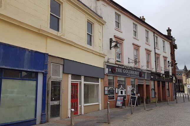 Thumbnail Retail premises for sale in Bank Street, Kilmarnock