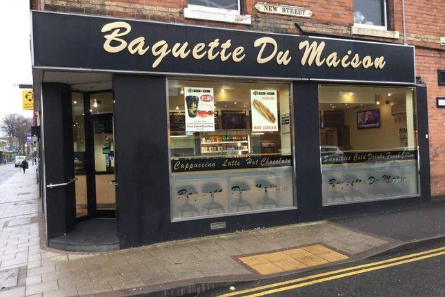 Thumbnail Restaurant/cafe for sale in Central Square, High Street, Erdington, Birmingham