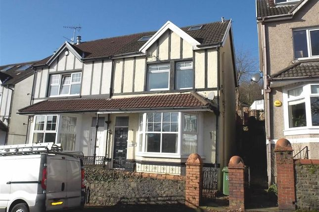 Thumbnail Semi-detached house to rent in Lan Park Road, Pontypridd