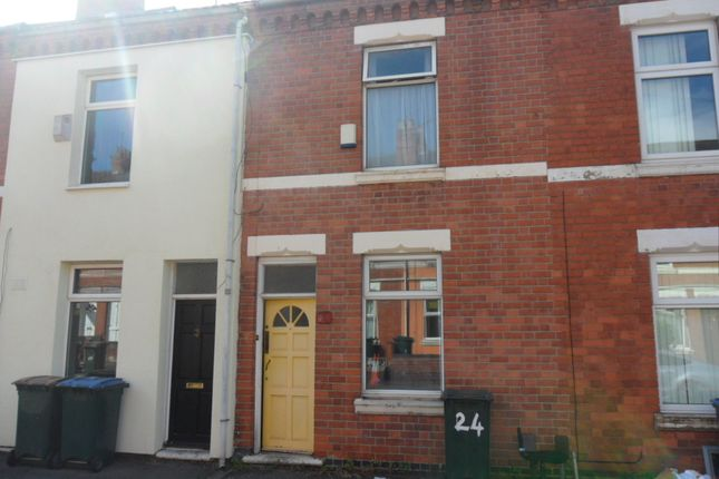 Thumbnail Terraced house to rent in Monks Road, Stoke